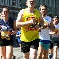 Tet Riga Marathon - Ivo Delvers (20789), Agne Matušonoka (22050)