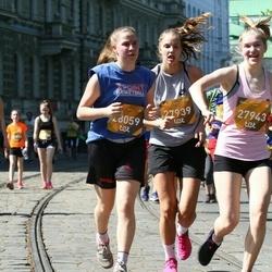 Tet Riga Marathon - Evelīna Mamaja (27939), Agate Dārta Vaska (27943), Līga Keita Burlacāne (28059)