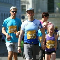 Tet Riga Marathon - Emīlija Keita Ābele (24937), Emma Vendele (25050), Guntis Bērziņš (25942)