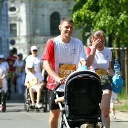 Tet Riga Marathon - Tamāra Radionova (27680), Aleksejs Radionovs (27800)
