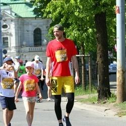 Tet Riga Marathon - Reina Grūbe (25009), Dainis Grūbe (25010), Ernests Ritovs (25029)