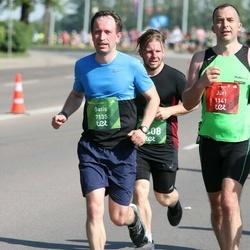 Tet Riga Marathon - Jüri Saar (1141), Gatis Bērziņš (7135)