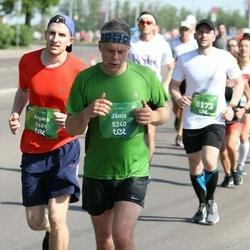 Tet Riga Marathon - Jānis Gedrovics (5240), Aigars Pusbārnieks (5689)