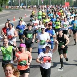 Tet Riga Marathon - Normunds Allens (328), Jana Gutkina (1765), Jānis Līcis (2116), Julius Kšivickis (4615), Aliona Kanashevich (4883), Arta Skudra (5227), Rimants Žogota (7034), Mārtiņš Šimis (7916)