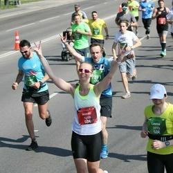 Tet Riga Marathon - Anneli Kruve-Viil (1200), Leena Uutela (3773), Edgars Kozaks (6074)