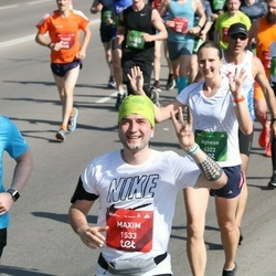 Tet Riga Marathon - Maxim Zlobin (1533), Agnese Katlapa (6322), Anna Bunetska (7453), Mitchell Vanderkodde (8193)