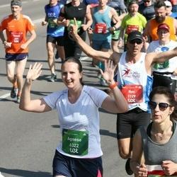 Tet Riga Marathon - Ron Levi (1129), Agnese Katlapa (6322)