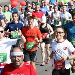 Tet Riga Marathon - Kaspars Šnepers (5812), Artis Veismanis (6464), Agris Kamenders (7504)