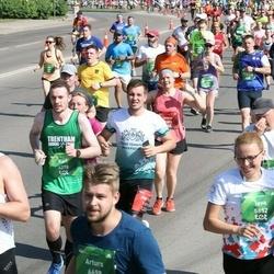 Tet Riga Marathon - Annija Brante (1003), Mārtiņš Ļuļļa (1099), Karl Latham (4278)