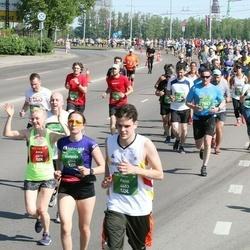 Tet Riga Marathon - Anta Veite (2078), Felix Weckbecker (4603), Stefanija Šabuņeviča (6944)