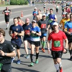 Tet Riga Marathon - Pieter De Rijck (992), Gvido Mušperts (1636), Adrian Simon Perrino (1961), Andrei Andrushenka (4192), Olga Tsogankova (4821)