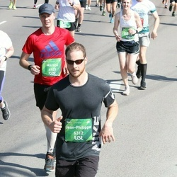 Tet Riga Marathon - Aija Loca (1273), Mārtiņš Bērziņš (4933), Jean-Philippe Riverin (6312)