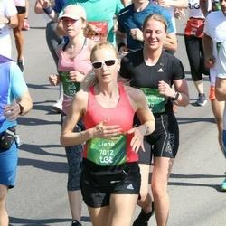 Tet Riga Marathon - Aigars Slotiņš (5955), Liene Sālījuma (7012)