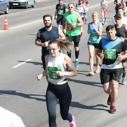 Tet Riga Marathon - Alīna Panavasa (5347), Sergey Lozitskiy (7083)