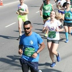 Tet Riga Marathon - Franziska Johanna Burkhardt (5458), Luis Gustavo Villalba Cuba (6256)