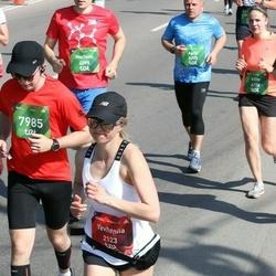 Tet Riga Marathon - Yevheniia Tonkoshkura (2123), Aleksejus Zubcovas (7985)