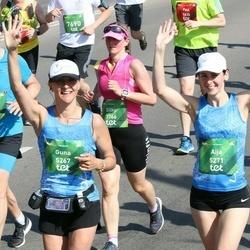 Tet Riga Marathon - Stefan Cosler (3064), Silke Cosler (3766), Guna Martinsone (5267), Aija Jekševica (5271)