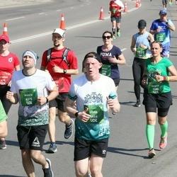 Tet Riga Marathon - Uldis Jurins (4466), Angelė Šenec (5282), Aivars Andersons (6375)