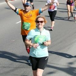 Tet Riga Marathon - Fracesco Romagnoli (4343), Olga Kozhevnikova (5548)