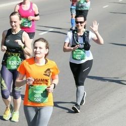Tet Riga Marathon - Hanna Astrouskaya (4521), Genovaitė Beniulienė (6549)