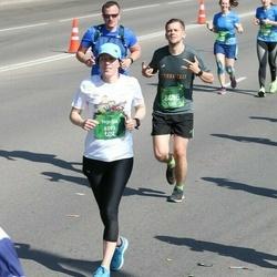Tet Riga Marathon - Ingrīda Jēka (6593), Agnis Berzins (8455)
