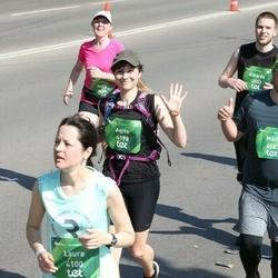 Tet Riga Marathon - Rihards Zābers (3533), Agita Kudlāne (4198)
