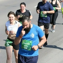 Tet Riga Marathon - Amador Checa Aragón (6155), Daiga Brasliņa (8390)