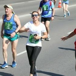 Tet Riga Marathon - Dzintars Rudzitis (4217), Anna Sidorova (4973)