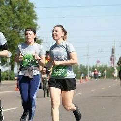 Tet Riga Marathon - Eva Pāvulsone (8223), Laura Bodniece (8224)