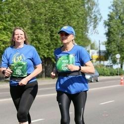 Tet Riga Marathon - Alison Jeffs (4506), Mary Thane (6564)