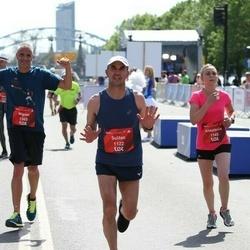 Tet Riga Marathon - Sultan Nurmedov (1122), Anastasiia Antosiak (1160), Miguel Silva (1365)