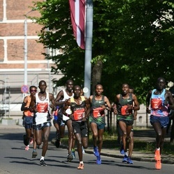 Tet Riga Marathon - Andualem Belay Shiferaw (34), Silas Kiprono Too (36)