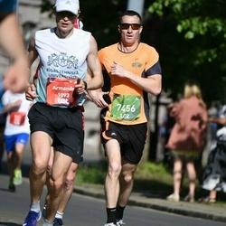 Tet Riga Marathon - Armands Bušs (1093), Evgeny Svib (7456)
