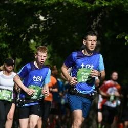 Tet Riga Marathon - Aigars Slotiņš (5955), Emīls Slotiņš (5956)