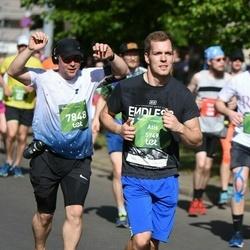 Tet Riga Marathon - Atis Dēvits (5949), Gatis Kriuliņš (7848)