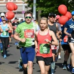 Tet Riga Marathon - Gatis Bērziņš (2325), Zanda Kokarēviča (5739)