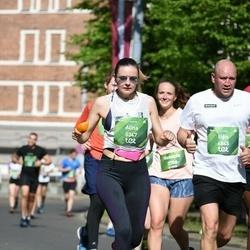 Tet Riga Marathon - Alīna Panavasa (5347), Uģis Berķis (6845)