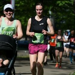 Tet Riga Marathon - Agita Solzemniece (4127), Zane Volkopa (7797)