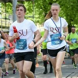 Tet Riga Marathon - Emīls Timofejevs (11414), Evita Dzervinika (11417)