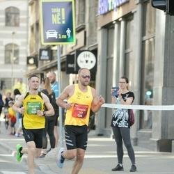 Tet Riga Marathon - Gintaras Drebulys (133), Augustas Jakubynas (158)