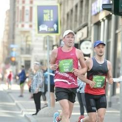 Tet Riga Marathon - Adrian Aftanaziv (3490), Artūrs Andžs (7169)