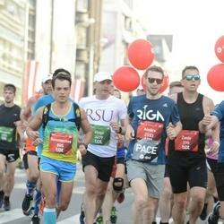 Tet Riga Marathon - Konstantīns Čursins (805), Ainārs Kumpiņš (2153)