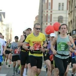Tet Riga Marathon - Serhii Shomchenko (641), Anna Inederkina (6667)