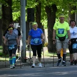 Tet Riga Marathon - Anita Barbane (10204), Darja Mlokita (11859), Normunds Šibeiks (13758), Irēna Šibeika (14465)