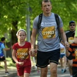 Tet Riga Marathon - Edgars Dišlers (27903), Amēlija Dišlere (27906)