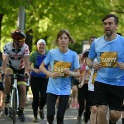 Tet Riga Marathon - Ivo Velde (26597), Alina Buzdakova (26599)