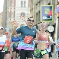 Tet Riga Marathon - Maciej Golanski (1396), Anna Lehmann (8231)