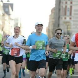 Tet Riga Marathon - Daiga Grunte-Sonne (1100), Danilkovych Kostiantyn (3586), Aigars Ansbergs (7165)