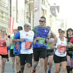 Tet Riga Marathon - Alan Barnes (757), Erez Axelrad (1987)