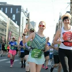 Tet Riga Marathon - Alena Blokhina (1786), Maryna Kasko (5668)